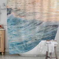 KESS InHouse® Sherbert Ocean Shower Curtain