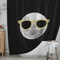 KESS InHouse® Mr. Moon Shower Curtain