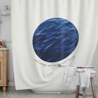 KESS InHouse® Sail Away Shower Curtain