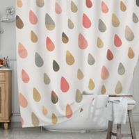 KESS InHouse® Opal Drops Dusk Shower Curtain