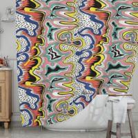 KESS InHouse® Modern Expression Shower Curtain