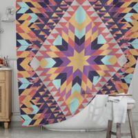 KESS InHouse® Ticky Ticky Shower Curtain