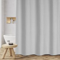 Sheer Sucker 72-Inch x 70-Inch Shower Curtain in Grey