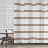 Maluberry 72-Inch x 70-Inch Shower Curtain in Taupe