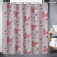 Color Shell 72-Inch x 70-Inch Shower Curtain in Coral