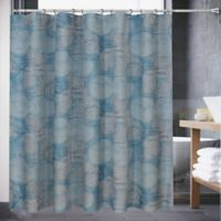 Atlas 72-Inch x 70-Inch Shower Curtain in Blue