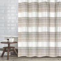 Wellen 72-Inch x 70-Inch Shower Curtain in Ivory