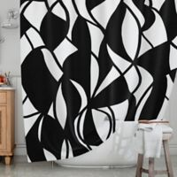 KESS InHouse® Sinuous Shower Curtain