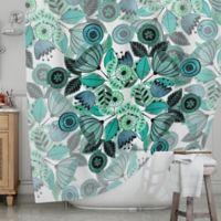 KESS InHouse® Mint Sognare Shower Curtain