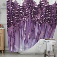 KESS InHouse® Forest Trees II Shower Curtain