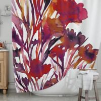 KESS InHouse® Pocketful of Posies Shower Curtain