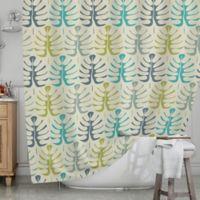 KESS InHouse® My Leaves Shower Curtain