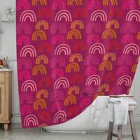 KESS InHouse® It's All Rainbow Shower Curtain