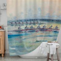 KESS InHouse® Crew Shower Curtain