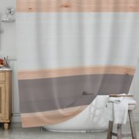 KESS InHouse® Spring Swatch Shower Curtain in Grey