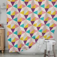 KESS InHouse® Amethyst Shower Curtain