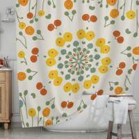 KESS InHouse® Ranunculas Shower Curtain