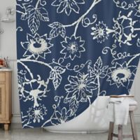 KESS InHouse® Passion Flower Shower Curtain