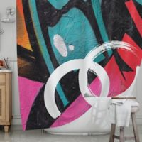 KESS InHouse® Channel Zero Shower Curtain