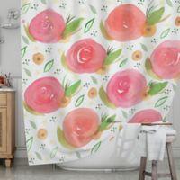 KESS InHouse® Florsle Shower Curtain