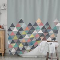 KESS InHouse® Nordic Combination Shower Curtain