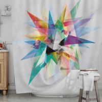 KESS InHouse® Colorful Shower Curtain