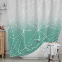 KESS InHouse® Simplicity Shower Curtain