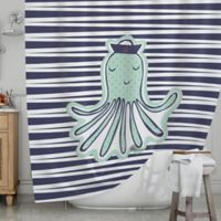 KESS InHouse® Pulpo Shower Curtain