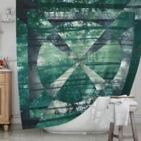 KESS InHouse® Foliage Shower Curtain