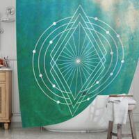 KESS InHouse® Atlantis Shower Curtain