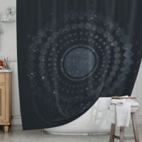 KESS InHouse® Lunar Confetti Shower Curtain