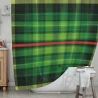 KESS InHouse® Tartan Shower Curtain