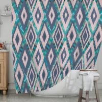 KESS InHouse® Tribal Ikat Shower Curtain