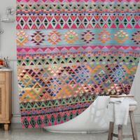 KESS InHouse® Tribal Native Shower Curtain