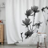 KESS InHouse® Mulan Magnolia Shower Curtain