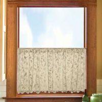 Heritage Lace® Bristol Garden 30-Inch Kitchen Curtain Pair in Café