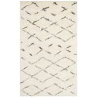 Safavieh Casablanca Harmony 3' x 5' Area Rug in Ivory/Grey