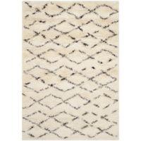 Safavieh Casablanca Harmony 3' x 5' Area Rug in Ivory/Brown