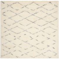 Safavieh Casablanca Harmony 6' Square Area Rug in Ivory/Grey