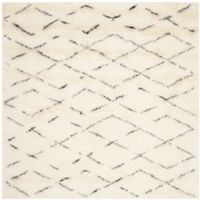 Safavieh Casablanca Harmony 6' Square Area Rug in Ivory/Brown