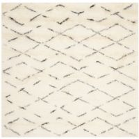 Safavieh Casablanca Harmony 8' x 8' Square Rug in Ivory/Brown