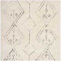 Safavieh Casablanca Haven 6' Square Area Rug in Ivory