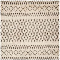 Safavieh Casablanca Hannah 8' Square Area Rug in Ivory/Natural