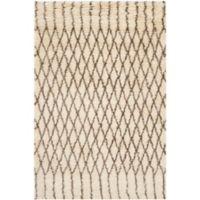 Safavieh Casablanca Dakota 3' x 5' Area Rug in Ivory/Grey