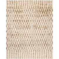 Safavieh Casablanca Dakota 9' x 12' Area Rug in Ivory/Grey