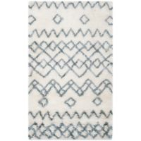 Safavieh Casablanca Opal 3' x 5' Area Rug in Ivory/Blue