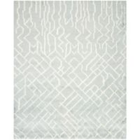 Safavieh Casablanca Garcia 9' x 12' Area Rug in Blue/Ivory