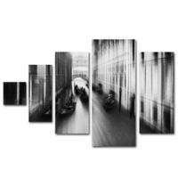 Roswitha Schleicher Schwarz Bridge 5-Panel Wall Art