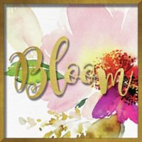 """""""Bloom"""" 16-Inch x 16-Inch Shadowbox Wall Art"""