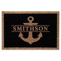 Anchor 24-Inch x 36-Inch Door Mat in Black